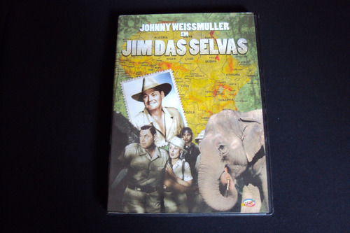 dvd jim das selvas   (original)  semi novo
