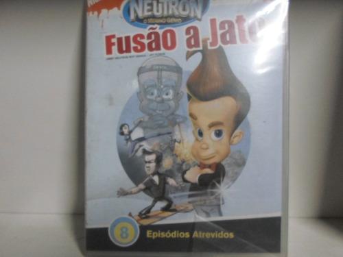 dvd jimmy neutron - fusão a jato - semunovo