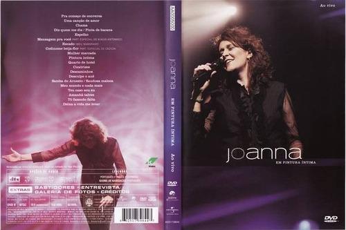 dvd joanna ao vivo 2007 pintura íntima