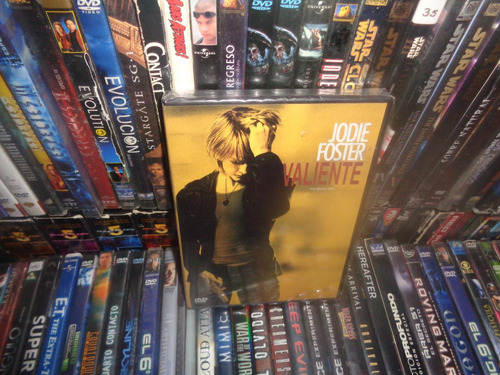 dvd  jodie foster valiente the brave one