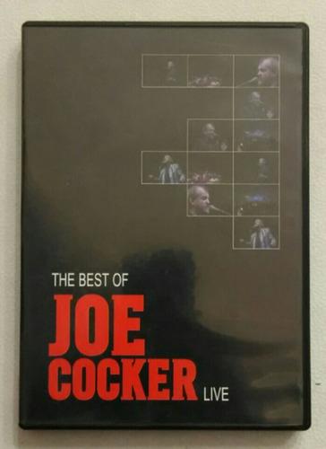 dvd joe cocker live the best of