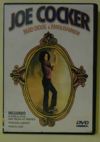 dvd joe cocker - mad dogs & englishmen