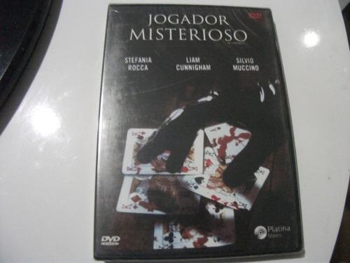 dvd jogador  misterioso lacrado