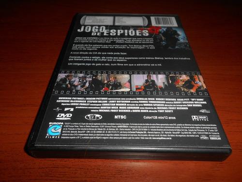 dvd - jogo de espiões