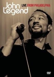 dvd john legend - live from philadelphia