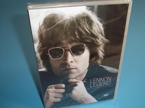 dvd john lennon - legend 20 clipes  'original'