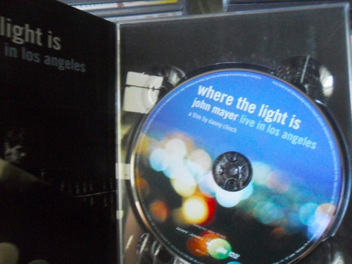 dvd: john mayer - where the light is (live in los angeles)