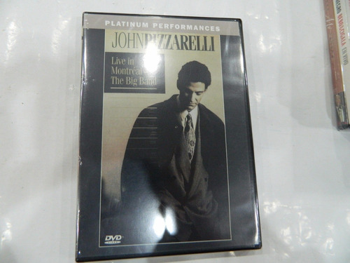 dvd - john pizzarelli: live in montreal - the big band