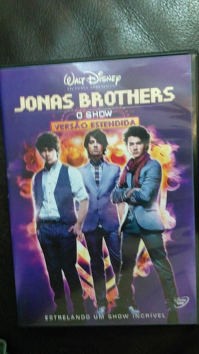 dvd jonas brothers - o show
