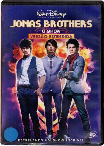 dvd jonas brothers  o show versão estendida