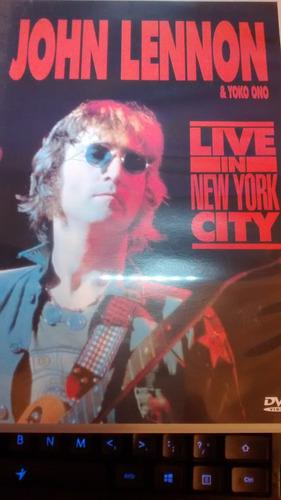 dvd jonh lennon ao vivo em nova york 1971