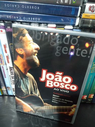 dvd joão bosco obrigado gente ao vivo novo lacrado original