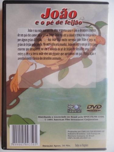 dvd - joão e o pé de feijão