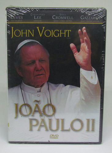 dvd joão paulo ii john voight christopher lee lacrado