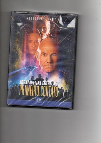 dvd - jornada  nas   estrelas -  primeiro  contato