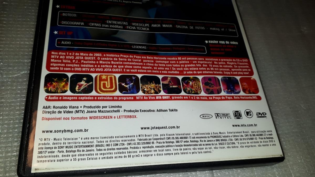 dvd jota quest belo horizonte