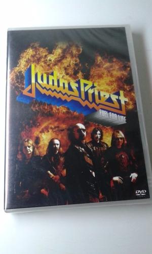 dvd - judas priest - fuel for life - lacrado