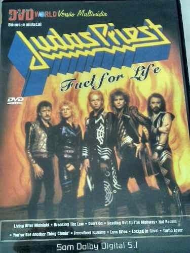 dvd judas priest - fuel for life r$ 14,90 +frete