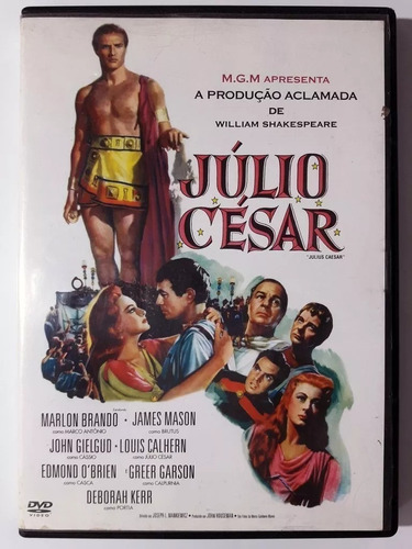 dvd júlio césar william shakespeare marlon brando james