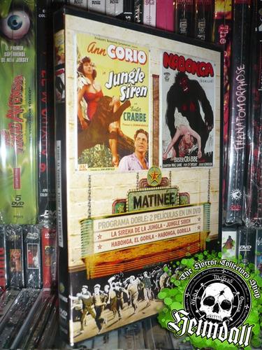 dvd jungle siren + nabonga + libreto exploitation arte esp