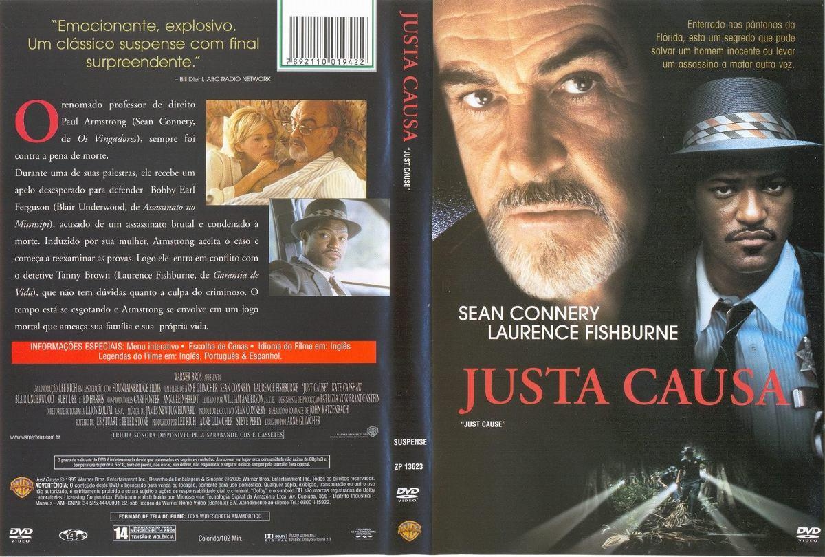 Dvd Justa Causa (1995) Sean Connery- Dublagem Clássica Da T - R ...