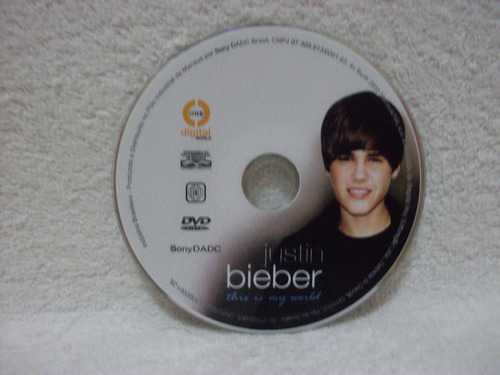 dvd justin bieber- this is my world
