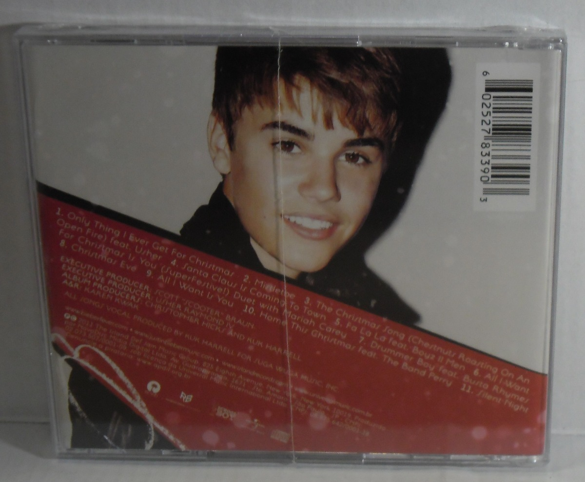 Dvd Justin Bieber This Is My World + Cd Under The Mistletoe - R$ 75 ...
