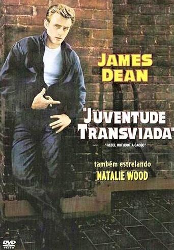dvd juventude transviada, james dean natalie wood sal mineo+