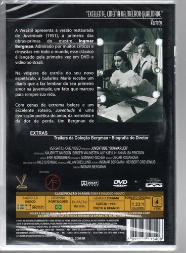 dvd juventude - versatil - bonellihq cx376 g18