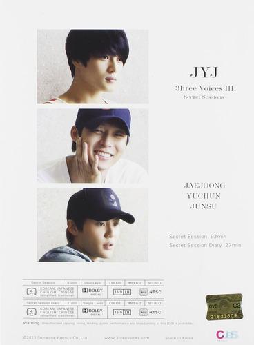 dvd : jyj - jyj 3hree voices (asia - import, ntsc region 0)