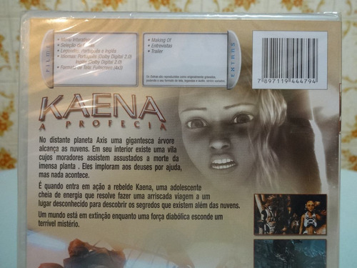 dvd kaena a profecia raro cult novo lacrado nunca aberto