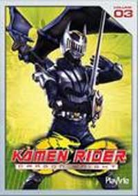 Dvd Kamen Rider Dragon Knight Vol 3 Original Semi Novo