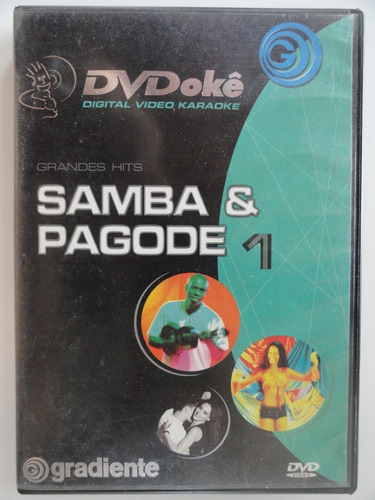 dvd  karaokê  samba & pagode 1 gradiente