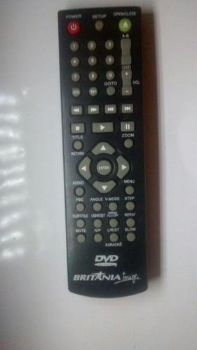 dvd karaoke-com controle remoto dvd britania fama 3
