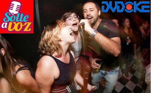 dvd karaoke lulu santos - dvdoke músicas videoke