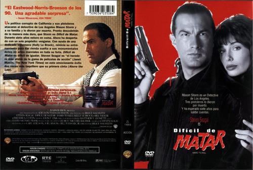 dvd karate duro dificl de matar hard to kill steven seagal