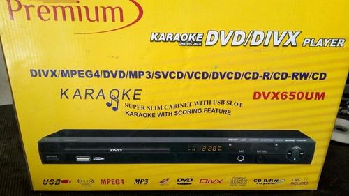 dvd kareoke premium totalmente nuevo sin uso