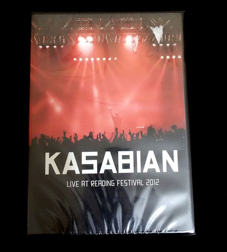 dvd kasabian - live at reading festival 2012 - lacrado