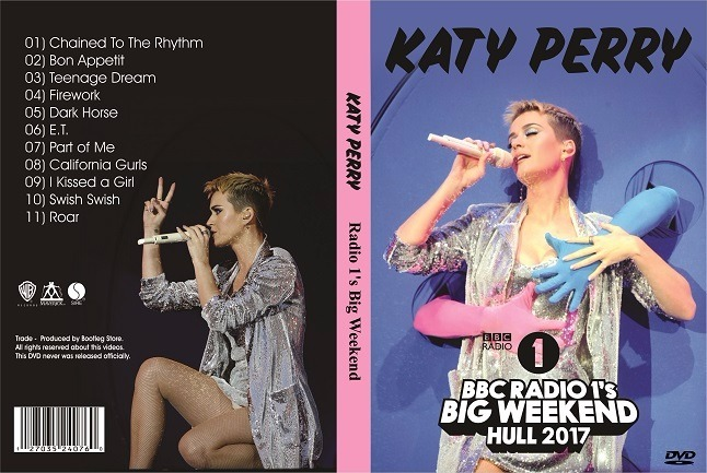 Dvd Katy Perry - Radio 1's Big Weekend 2017