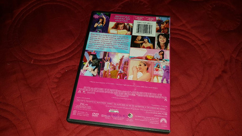 dvd katy perry / the movie part of me no gaga spears aguiler