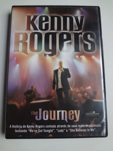 dvd kenny rogers the journey
