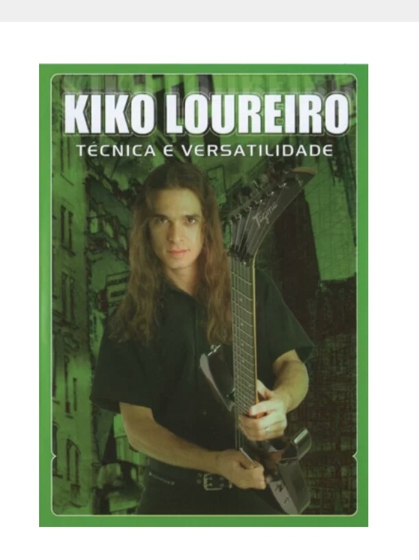 dvd video aula de guitarra kiko loureiro