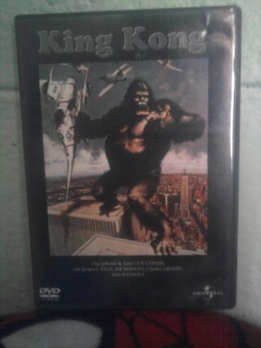 dvd king kong jessica lange 1976. subtit. español laurentiis