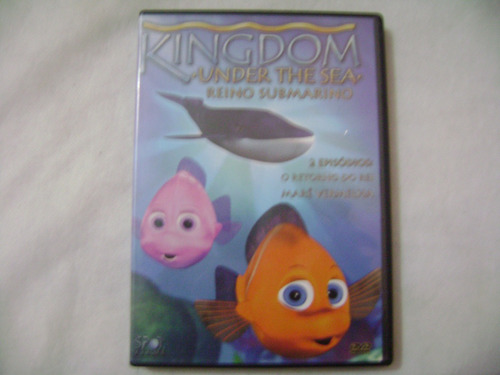 dvd kingdom under the sea 2 episodios o retorno do rei