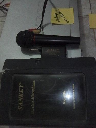 dvd kinyo con microfono sankey