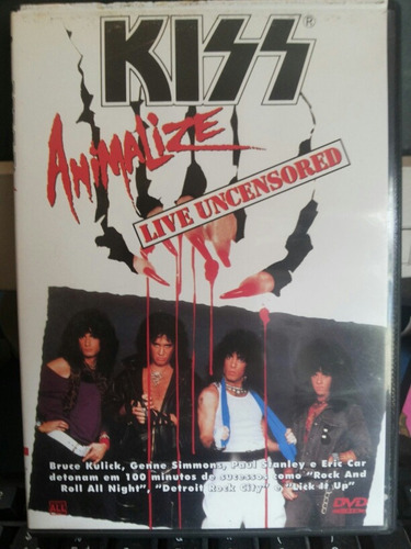 dvd kiss animalize live uncensored