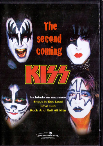 dvd kiss - the second coming - novo***