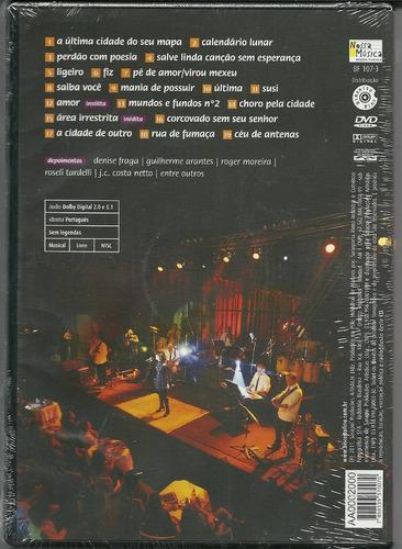 dvd klébi nori - ao vivo- ( partic roger, guilherme arantes)