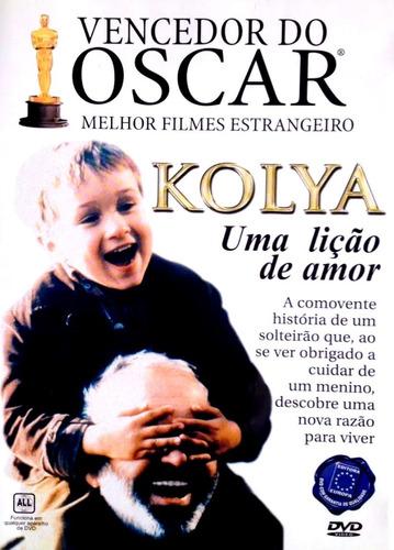 dvd - kolya - uma lição de amor - ( kolja )