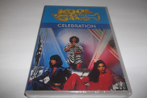 dvd - kool & the gang - celebration - lacrado